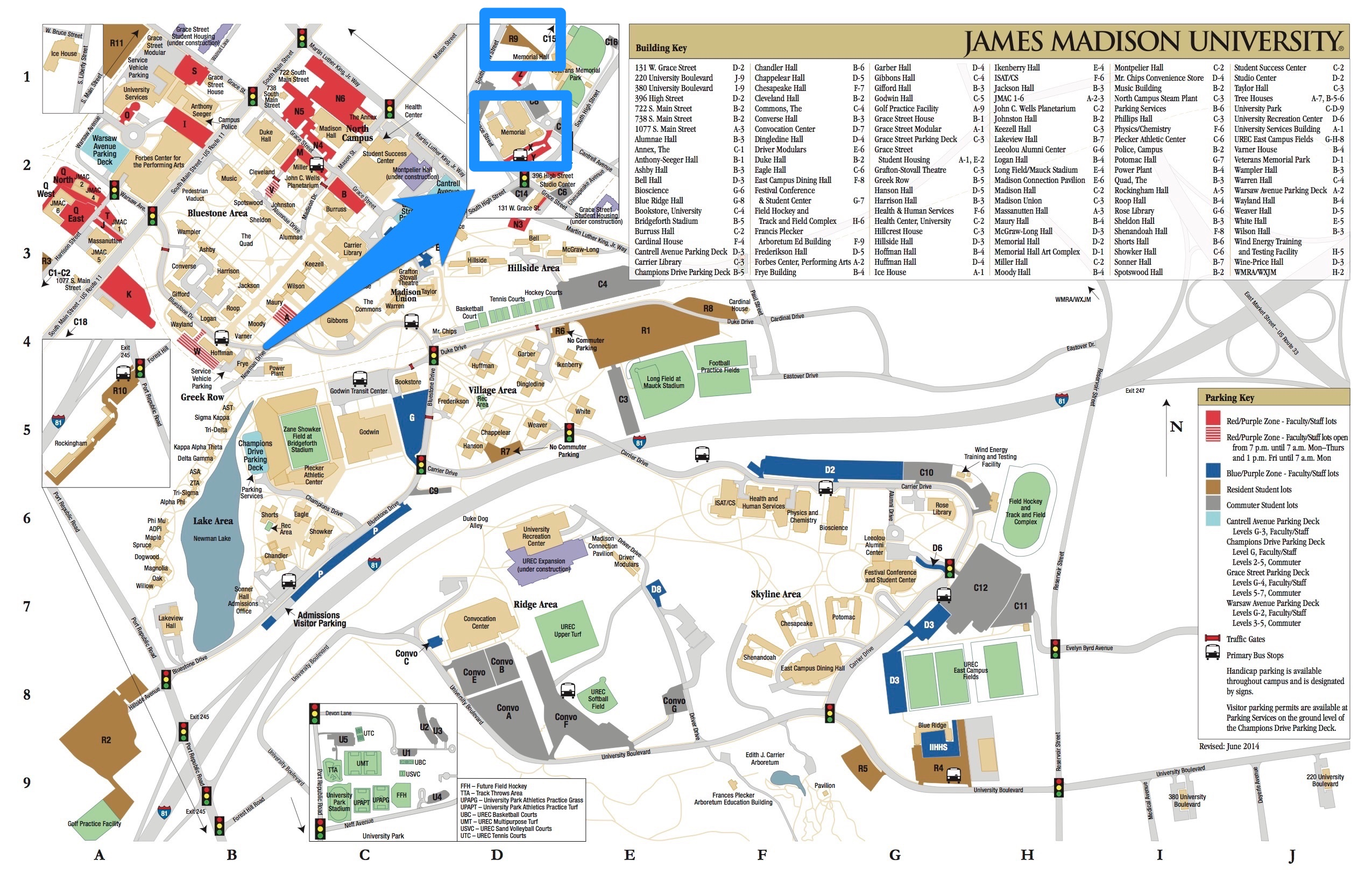 Jmu Parking Map Brainstorm 2015: Make and Take