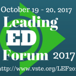 Leading Ed Forum, October 19 & 20, 2017