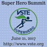 Registration Open for VSTE SuperHero Summit aka Googlepalooza