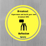 Breakout Faster than a Speeding Bullet Reflection Badge