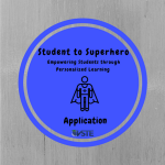 Student to Superhero Application Badge