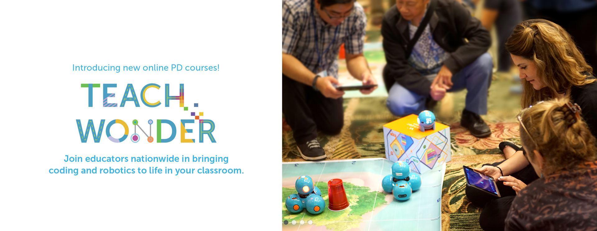 Vste Partners With Wonder Workshop To Bring Dash Robots Pd To Va