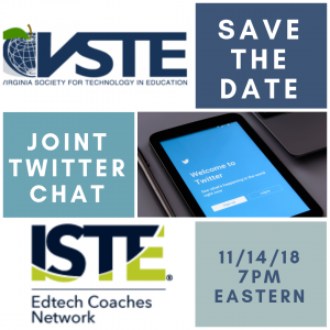logo with date for twitter chat