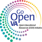 logo for go open va