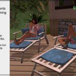 screen shot of Second Life avatars