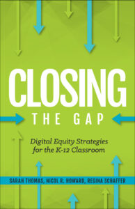 book cover: closing the gap