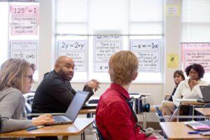 photo of middle school math teachers